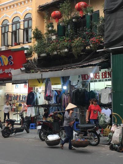 初めてのベトナム旅行は、ハノイとホーチミン(1日目)