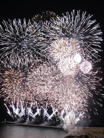 母との2人旅  クレイルに乗って下田へ、そして熱海の花火