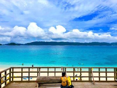 ダイビングのアップグレードのために一人沖縄旅(座間味上陸)