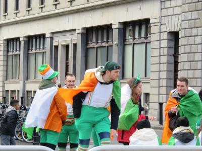 セント・パトリックス・デーのパレードの後は、ダブリン市内観光