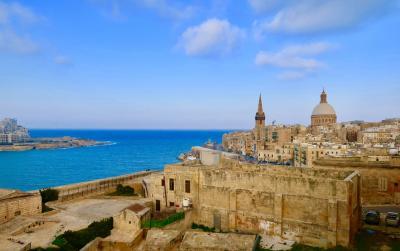 2019.3 地中海に浮かぶ世界遺産!マルタ共和国  1日目
