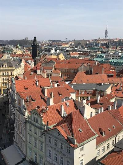 プラハ(1)空港からホテルへ、そして旧市街へ