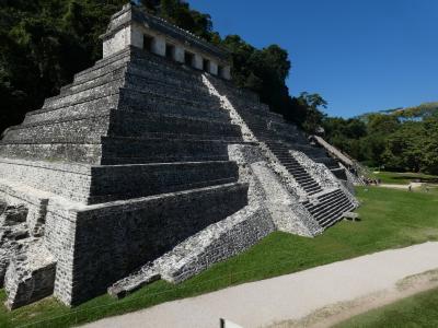 メキシコ パレンケ遺跡 (Palenque Ruinas, Mexico)