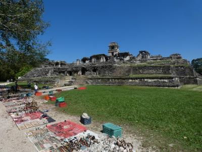 メキシコ パレンケ遺跡(続) (Palenque Ruinas(cont.), Mexico)