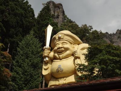 妙義山 中之嶽神社の日本一のだいこく様!