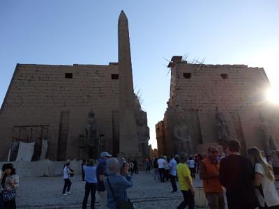 古代エジプトをめぐる時空旅 2日目②(ルクソール東岸)