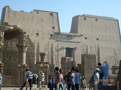 古代エジプトをめぐる時空旅 4日目(エドフからコム・オンボ)