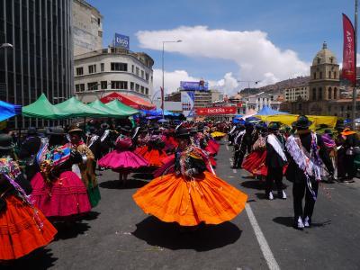 南米旅2019 その③ラパスでもカーニバル??ラテンの血が騒ぎだす…