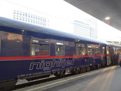 ヴェネツィア4日目&ウィーン1日目 ヴェネツィア→ウィーン夜行列車