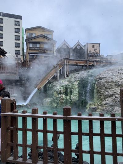 草津温泉に久しぶりに来ました。
