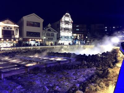 草津温泉町ぶらり散歩、共同浴場に入浴。
