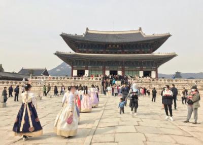 1泊2日 10人で韓国旅行