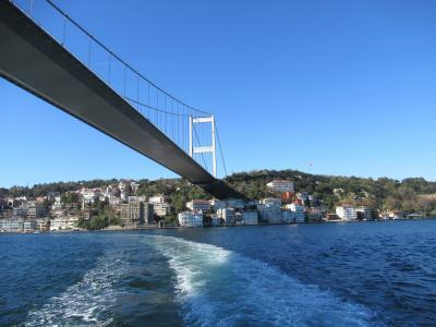 2018.10.10.-10.29 東地中海ギリシャクルーズイスタンブール観光 ④ボスポラス海峡クルーズとサバサンド