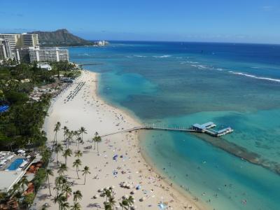 晴天のハワイ 2019春(1日目)
