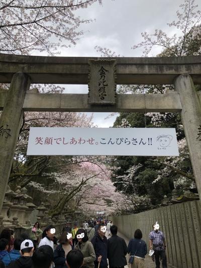 金刀比羅宮と丸亀城 桜を愛でる四国への旅