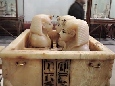 古代エジプト人に畏怖の念=神秘のエジプト・ナイル川クルーズ10日間 30(カイロ5 エジプト考古学博物館2)