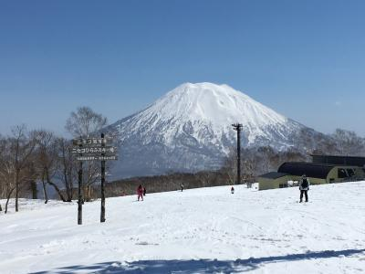 2018/19シーズンラスト、4月の北海道春スキーと小樽、夕張観光
