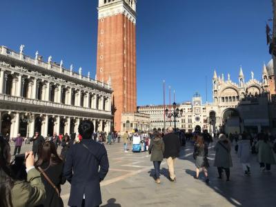 楽しかったツアーでのイタリア&モンサンミッシェル・パリ ①ベネチア写真