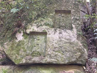 千光寺と清滝石仏群から鳴川峠、府民の森を歩く