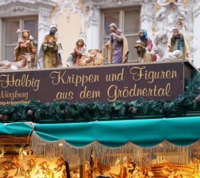 ドイツ・フランス、クリスマスマーケットを巡る ~3日目 やっちまった...ヴュルツブルク~