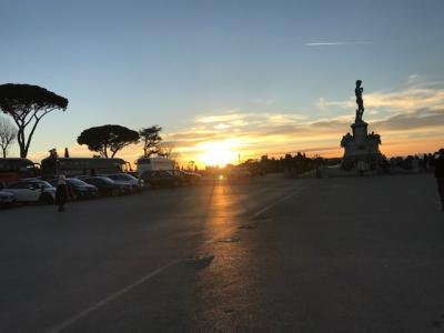 楽しかったツアーでのイタリア&モンサンミッシェル・パリ ②フィレンツェ他写真