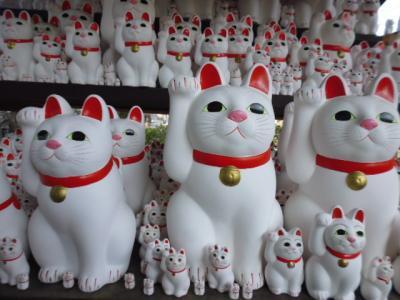 招き猫で有名な豪徳寺あたり散策