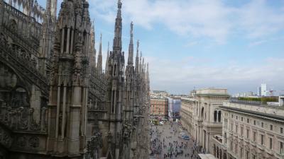 駆け足のイタリア旅行 ~関空からミラノへ~