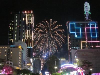 2018〜2019年末年始東南アジア周遊・10日目・ホーチミン・メコン川クルーズと年越し花火