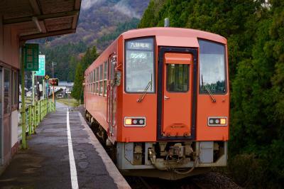 駅ルーレットで出た駅に行ってみる。九頭竜線 柿ヶ島駅(福井県大野市)
