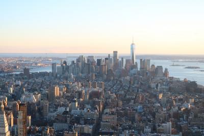 ニューヨーク・ナイアガラ・ワシントンDC13日間 5日目 劇場型バスのTHE RADEはノリノリ&夕景の摩天楼