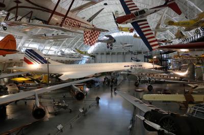 ニューヨーク・ナイアガラ・ワシントンDC13日間 13日目 最終日はダレス空港近くの国立航空宇宙博物館の別館へ