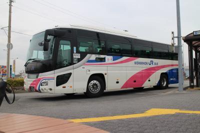 【バス乗車記】松茂→高速舞子、JRバス阿波エクスプレス号で雨の淡路島を駆け抜ける。