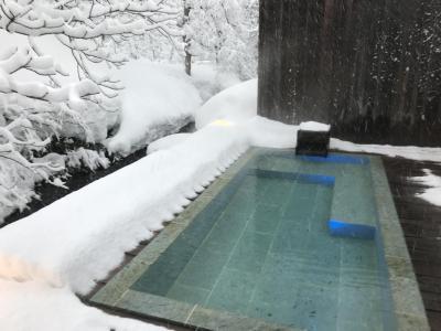 岩手 山人‐yamado‐で雪見風呂 後編