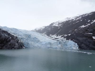 アラスカ鉄道の旅③(デナリからアンカレッジへ。氷河を目指して)