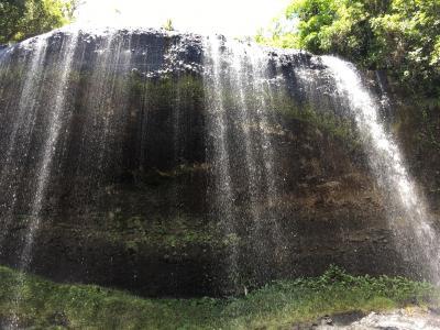 卒業旅行は日本語が通じる国パラオ共和国へ~3日目、バベルダオブ島を周遊し、ガラスマオの滝に打たれる~