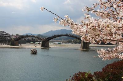 ANAのマイルで広島へ②岩国錦帯橋と安芸の宮島