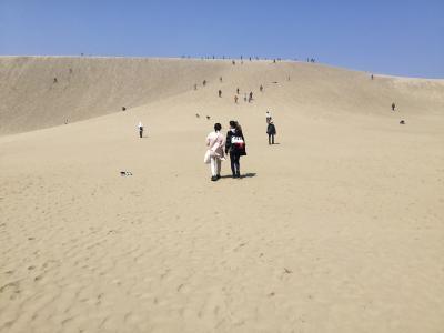 高1と中2の娘たちと鳥取砂丘&コスパ抜群のカプセルホテル
