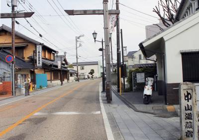 kオジサンの中山道旅日記  その27    上尾宿からJR浮間舟渡駅 へ