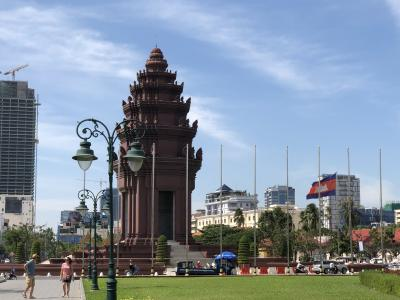 カンボジア首都プノンペン市内をぐるっと1日観光ルート