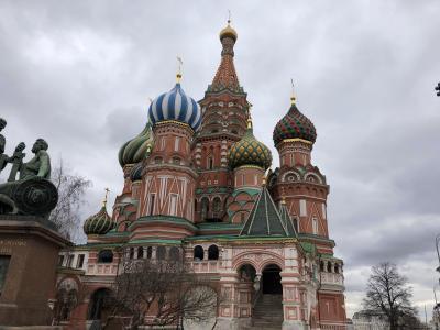 ロシア2日目 モスクワ