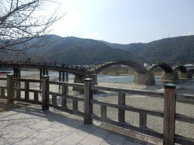 日本三大名橋のひとつ錦帯橋への旅