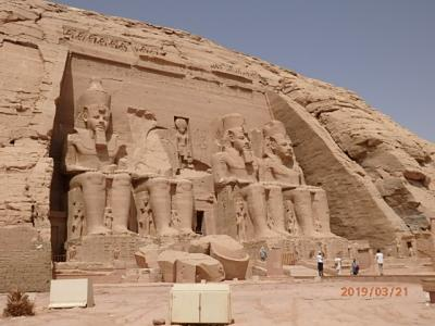 古代エジプトをめぐる時空旅 5日目(アブシンベル)