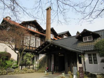 町屋の片泊まりで巡る京都の桜2019  その2 大山崎山荘・明智光秀の塚