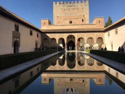 スペイン南部とポルトガル周遊④~グラナダ観光後半 アルハンブラ宮殿