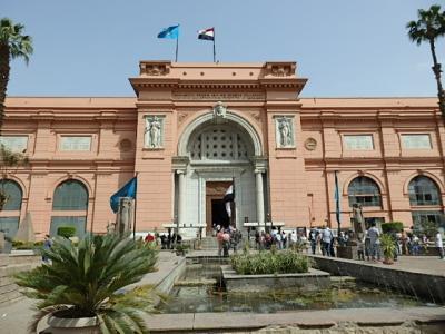 古代エジプトをめぐる時空旅 7日目(カイロ/カイロ博物館へ)