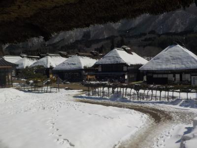 福島へ! その5 冬の大内宿へ PART1
