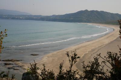 GO GO!サーフトリップ高知西の果て大岐の浜へ、渡船乗ったり道中あっちこっち初日編