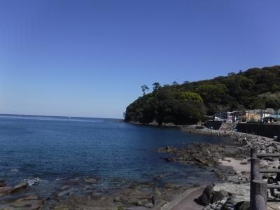 桜と海を眺めに、真鶴⇒熱海散歩