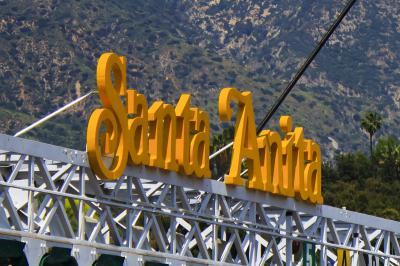 ロサンゼルス郡立植物園の向かいにあるサンタアニタパークに潜入