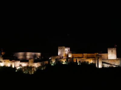 年末年始スペインアンダルシア旅行 その14 グラナダで洞窟フラメンコと夜景ツアーへ